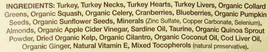 Primal冷凍乾燥生食成份