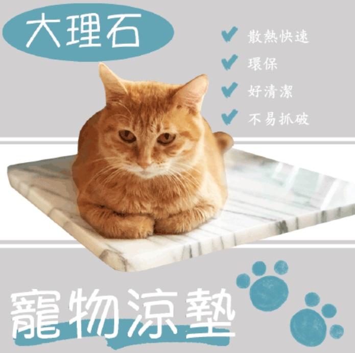 寵物大理石涼墊