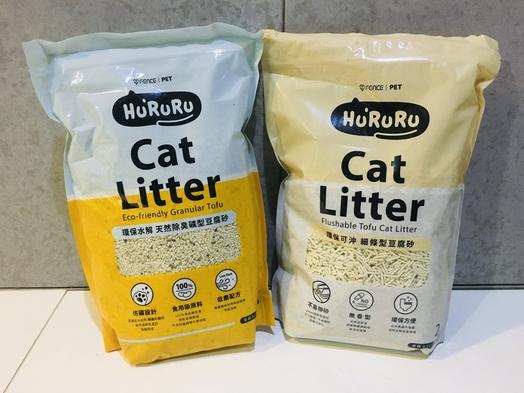 Hururu礦型條型豆腐貓砂