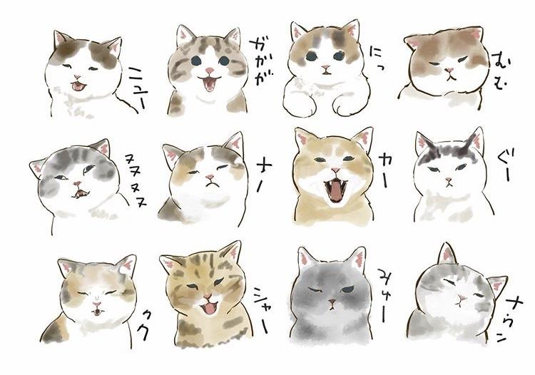 日本貓咪插畫家