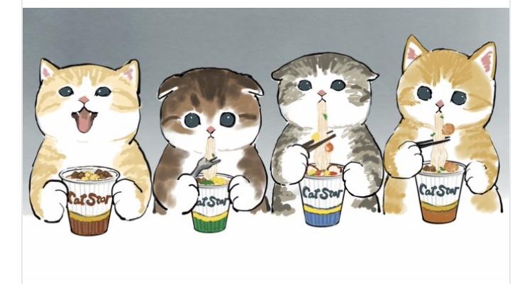 日本貓咪插畫